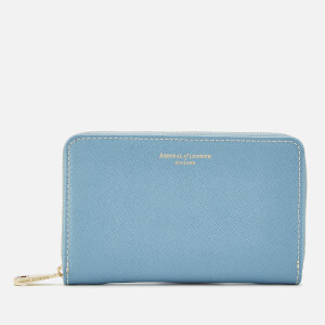 Aspinal of London Women's Continental Purse - Midi - Bluebird