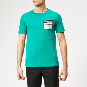 Maison Margiela Men's Stereotype Logo T-Shirt - Emerald