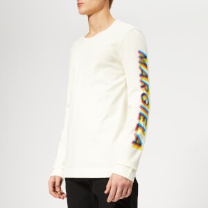 Maison Margiela Men's Heavy Cotton Jersey Top - Off White