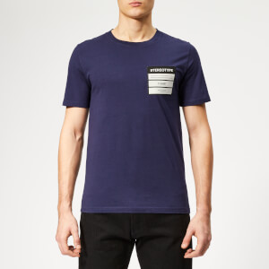 Maison Margiela Men's Stereotype Logo T-Shirt - Ink Blue