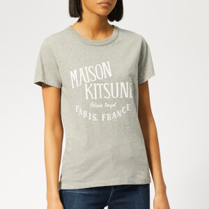 Maison Kitsuné Women's Palais Royal T-Shirt - Grey