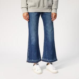 Philosophy di Lorenzo Serafini Women's Cropped Flare Jeans - Blue