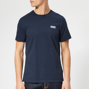 Barbour International Men's Essential Small Logo T-Shirt - Navy