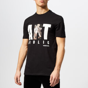 Neil Barrett Men's Artoholic T-Shirt - Black