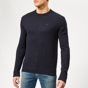 Armani Exchange Men's Cotton Cashmere Knit - Navy