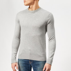 Armani Exchange Men's Cotton Cashmere Knit - Alloy Heather