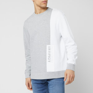 Armani Exchange Men's Crew Neck Sweatshirt - Grey