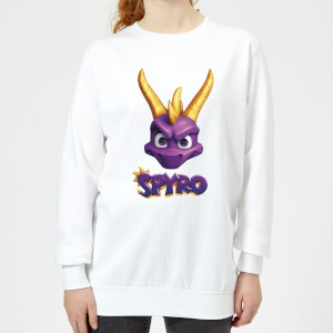 Spyro Face Women's Sweatshirt - White