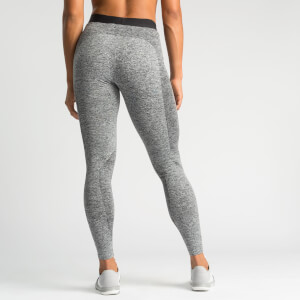 L - IdealFit Seamless Leggings - Grey