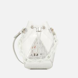 The Volon Women's Mani Crystal Mini Bag - C.Silver