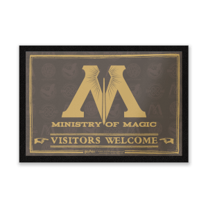 Harry Potter Ministry Of Magic Entrance Mat