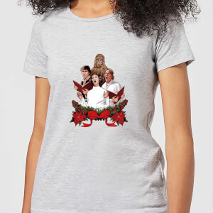 Star Wars Jedi Carols Women's Christmas T-Shirt - Grey