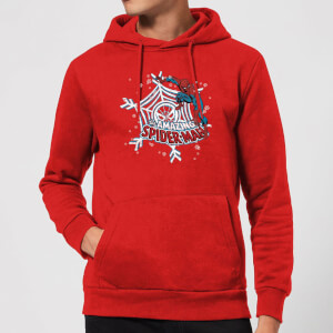 Marvel Spider-Man Christmas Hoodie - Red