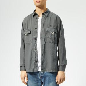 Acne Studios Men's Sandy Shirt - Anthracite Grey