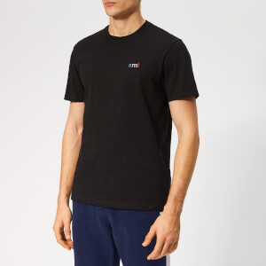 AMI Men's Logo Embroidery T-Shirt - Black