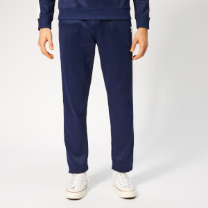 AMI Men's Contrast Band Trackpants - Navy