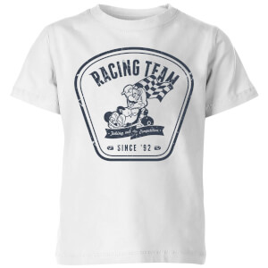 Mario Kart Racing Team Kids' T-Shirt - White