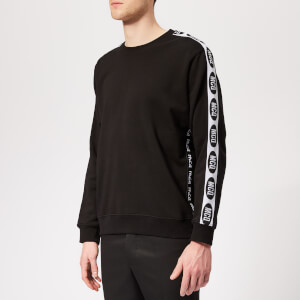 McQ Alexander McQueen Men's Racer Sweatshirt - Darkest Black