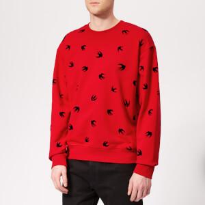McQ Alexander McQueen Men's Mini Swallow Sweatshirt - Cadillac Red