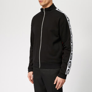 McQ Alexander McQueen Men's Racer Track Top - Darkest Black