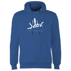 How Ridiculous XLIV Script Hoodie - Royal Blue
