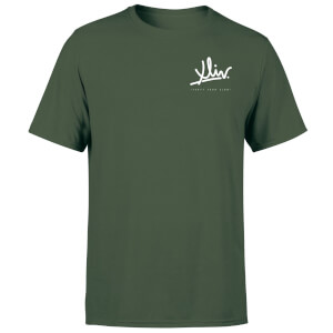 How Ridiculous XLIV Script Pocket Men's T-Shirt - Forest Green