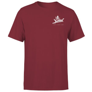 How Ridiculous XLIV Script Pocket Men's T-Shirt - Burgundy