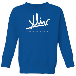 How Ridiculous XLIV Script Kids' Sweatshirt - Royal Blue