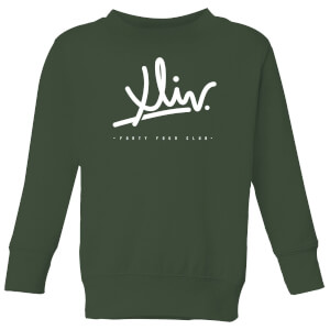 How Ridiculous XLIV Script Kids' Sweatshirt - Forest Green