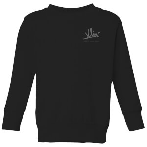 How Ridiculous XLIV Script Pocket Kids' Sweatshirt - Black