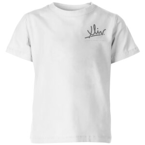 How Ridiculous XLIV Script Pocket Kids' T-Shirt - White