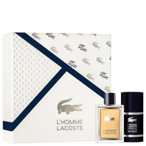 Lacoste L'Homme Gift Set (Eau de Toilette 50ml + Deodorant Stick 75ml)