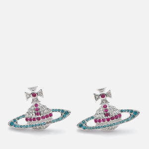 Vivienne Westwood Women's Kika Earrings - Fuchsia / Rhodium