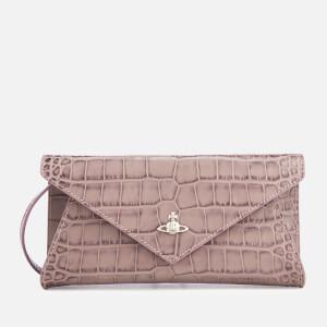 Vivienne Westwood Women's Lisa Envelope Clutch Bag - Pink