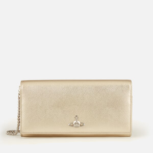 Vivienne Westwood Women's Pimlico Long Wallet with Chain - Gold
