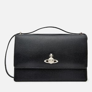 Vivienne Westwood Women's Matilda Large Bag with Flap - Black