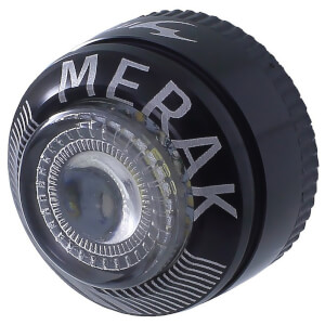 Moon Merak Front LED Bicycle Light - Silver