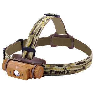 Fenix HL60R LED USB Rechargeable 950 Lumens Head Torch - Desert Yellow