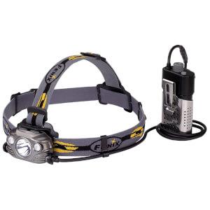 Fenix HP30R LED Head Torch USB Rechargeable 1750 Lumens - Iron Grey