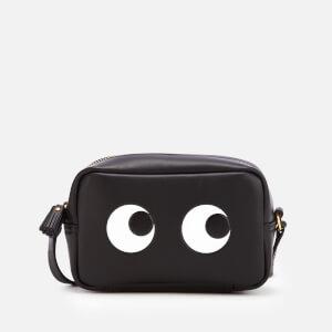 Anya Hindmarch Women's Mini Eyes Right Cross Body Bag - Black