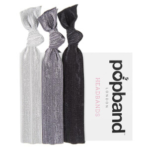 Popband London Black Headbands