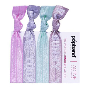 Popband London Yoga Bunny Hair Ties gumki do włosów