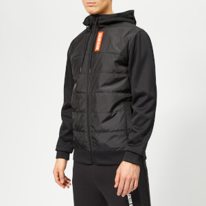Calvin Klein Performance Men's Full Zip Hybrid Down Jacket - CK Black