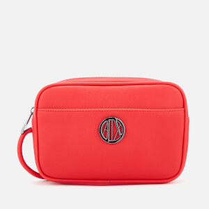Armani Exchange Women's Small Logo Cross Body Bag - Red