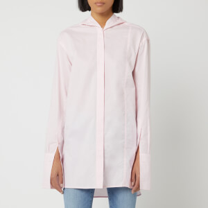 JW Anderson Women's Shirt with Back Tabs Detail - Pink
