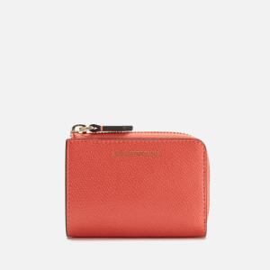 Emporio Armani Women's Wallet - Salmone/Pietra