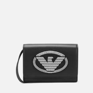 Emporio Armani Women's Minibag - Nero/Argento