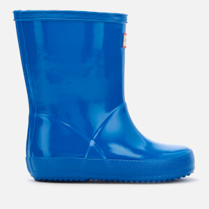 Hunter Toddler's First Classic Wellies - Bucket Blue