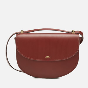A.P.C. Women's Geneve Cross Body Bag - Terracotta