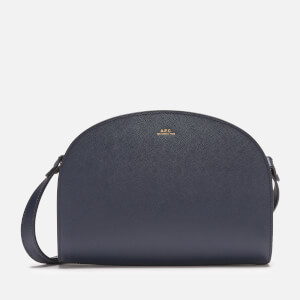 A.P.C. Women's Demi Lune Bag - Dark Navy
